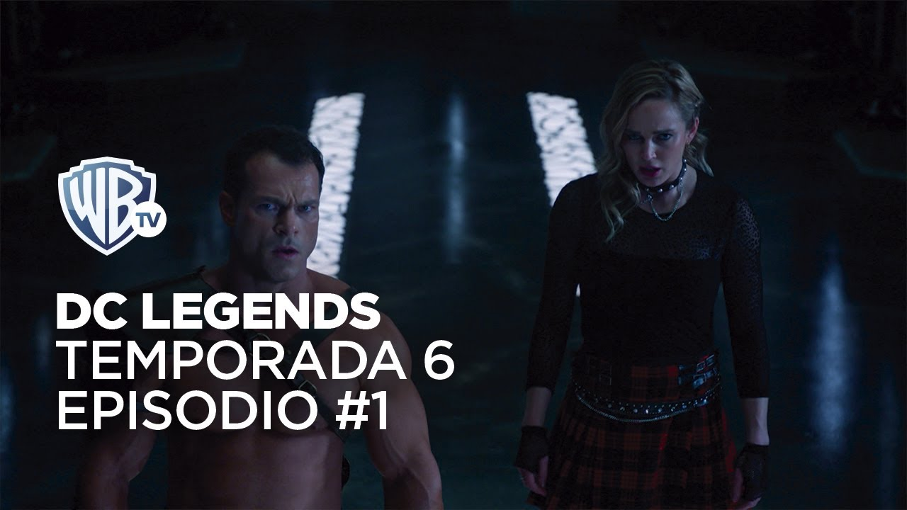 Sara vs. Extraterrestre   #LegendsOfTomorrow Temporada 6 Episodio 1