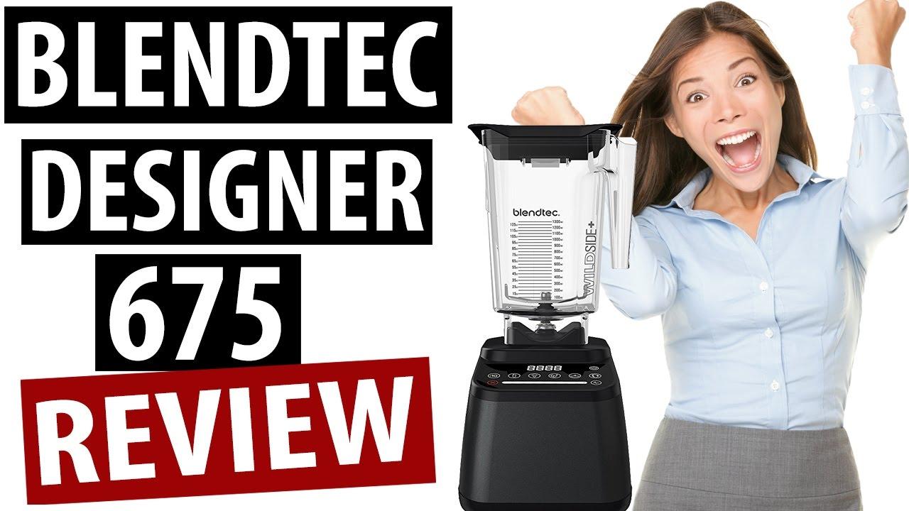 Blendtec Designer 675 Review (Quick Overview) - YouTube