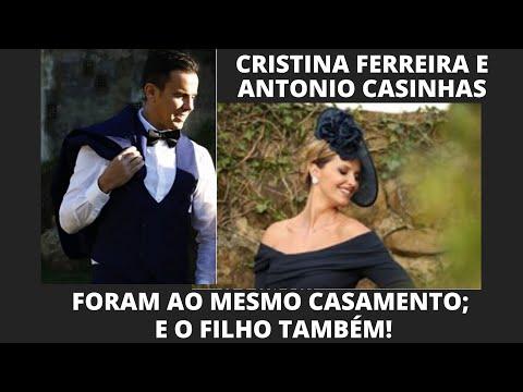CRISTINA FERREIRA E ANTONIO CASINHAS FORAM A CASAMENTO! MANIA CURIOSA #cristinaferreira