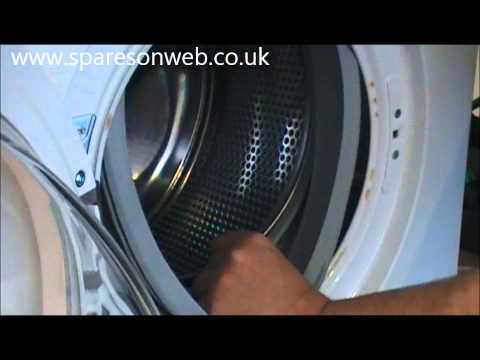How To Replace A Zanussi Washing Machine Door Seal Doovi