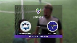 Обзор матча Unknown FC Falcons R CUP Турнир по мини футболу в Киеве