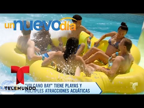 Volcano Bay, el nuevo parque temático en Orlando, Florida | Un Nuevo Día | Telemundo