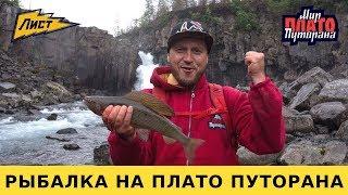 Рыбалка на Плато Путорана! Хариус северная рыба. Путешествия по России