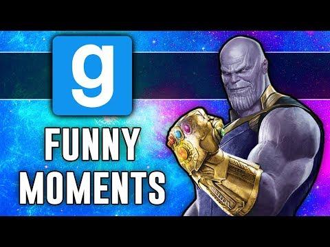 Thanos & The Infinity Gauntlet | Gmod Sandbox (Funny Moments)