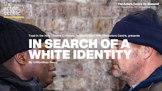 Trailer: In Search of a White Identity   27 November - 06 December