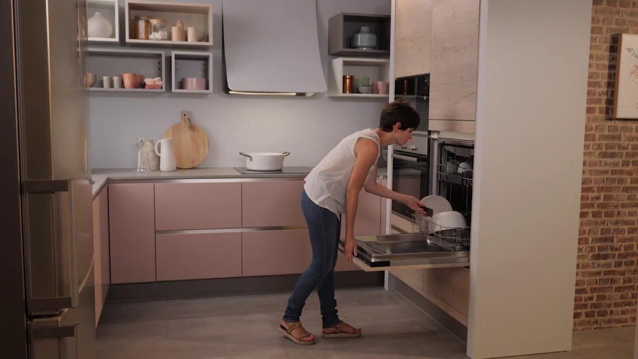 Cuisinella Focus Lave Vaisselle En Hauteur Youtube