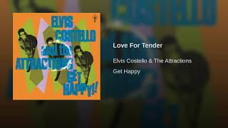 Elvis Costello and The Attractions--Love For Tender