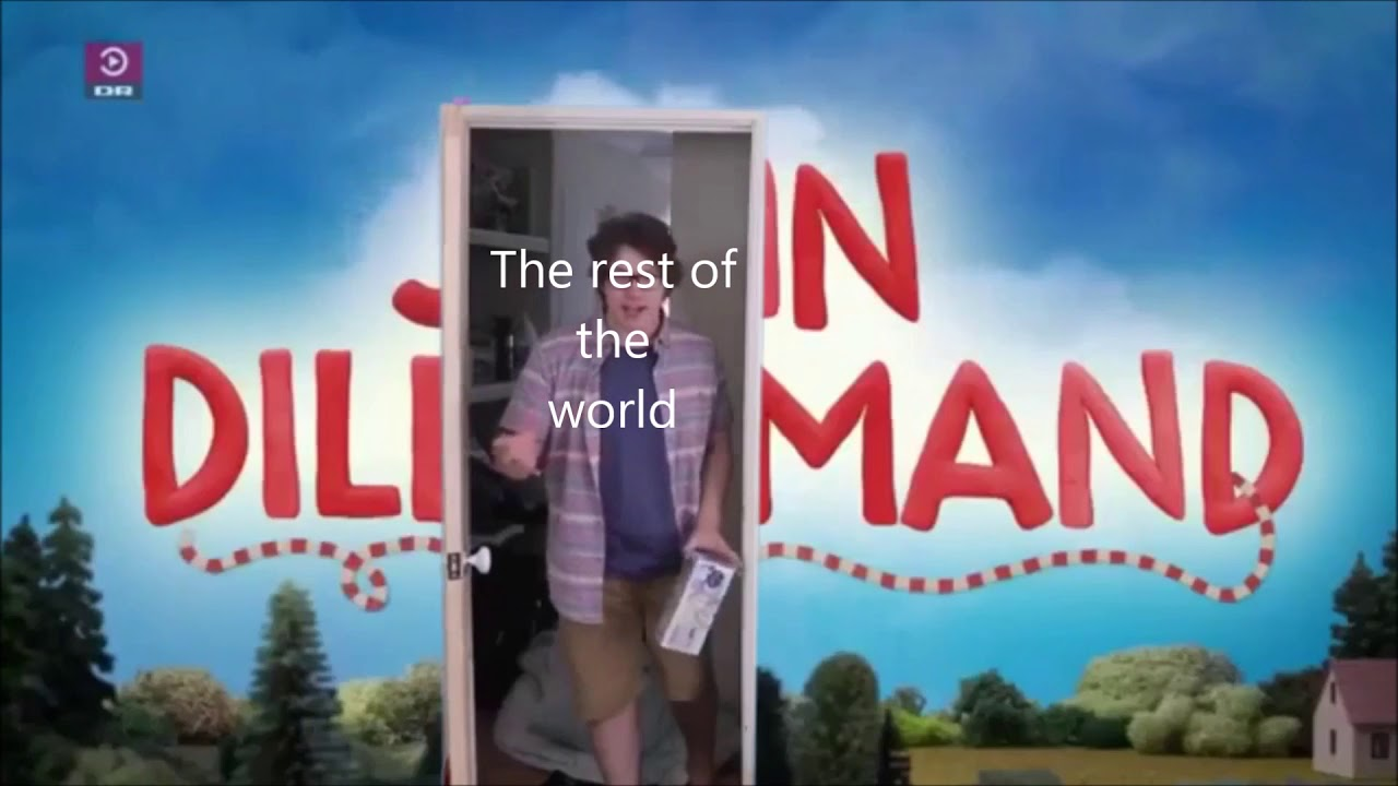 The rest of the world reacting to John Dillermand - YouTube