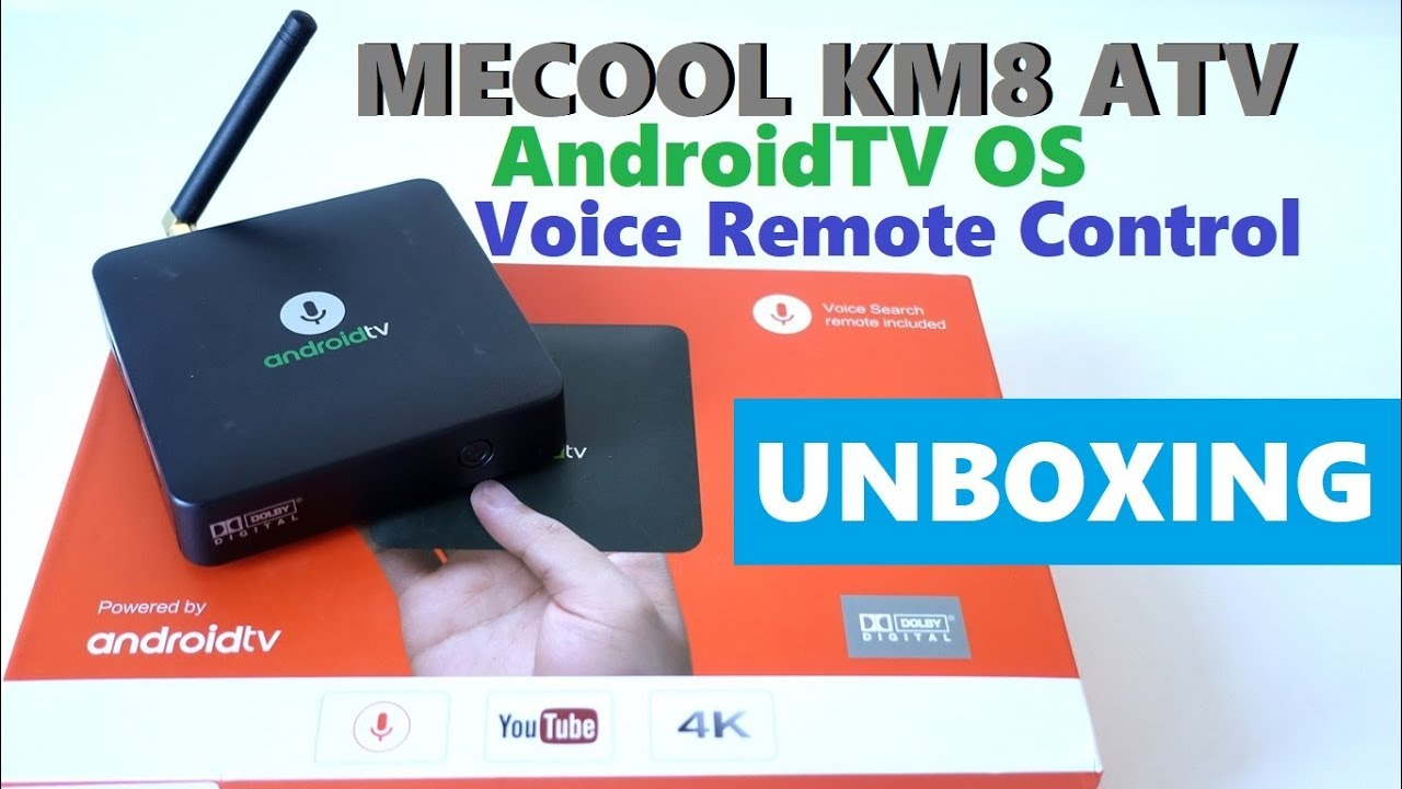 MECOOL KM8 TV Box with Voice Remote