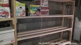 Basement Storage Shelf Build Maxwellsworld