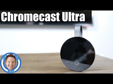 Chromecast Ultra Setup & App Overview