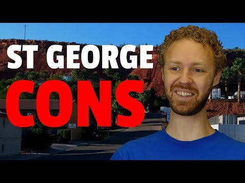 Top 5 reasons NOT to move to St. George, Utah