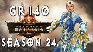 Rank 1 GR140 Monk   Diablo 3 [Season 24]