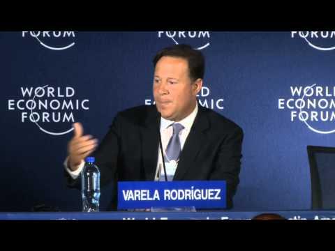 Panama 2014 - A Conversation with Juan Carlos Varela
