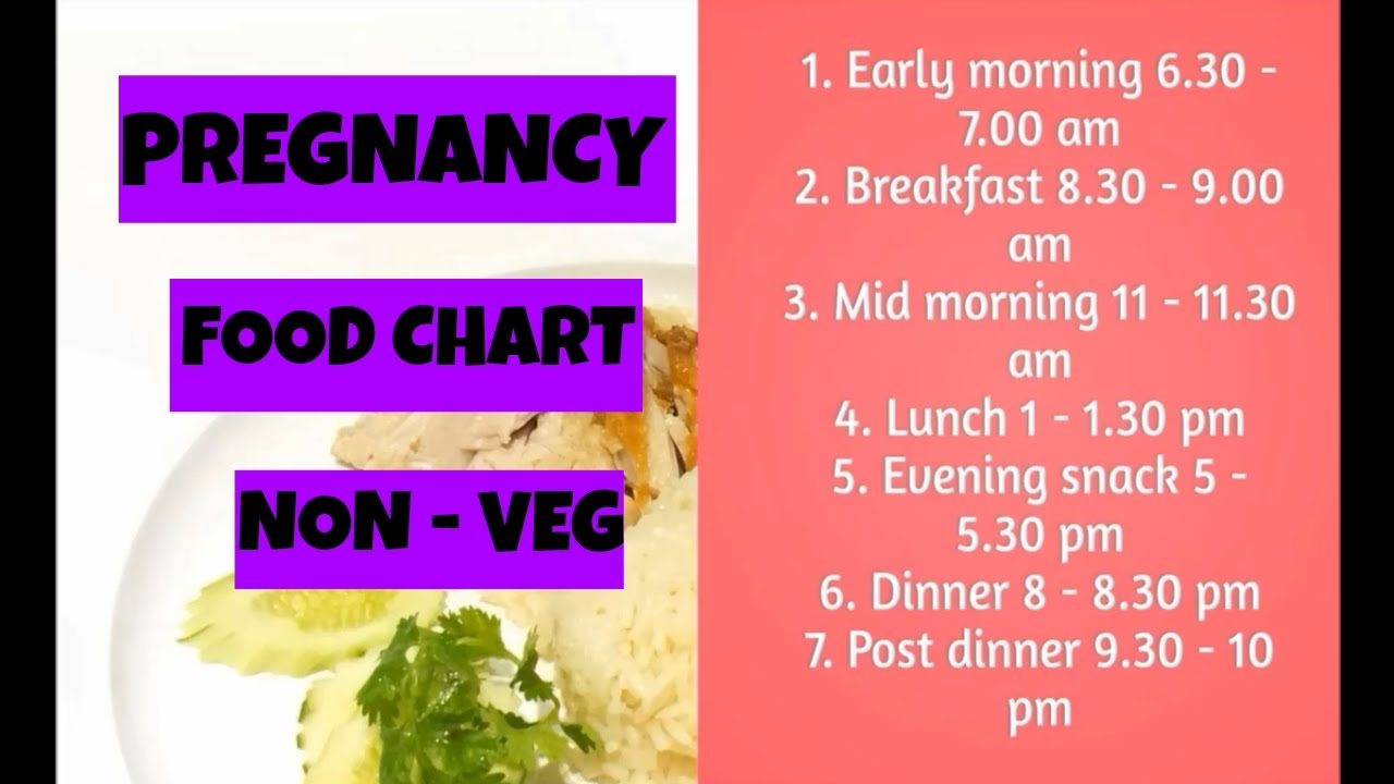 Pregnancy food chart india indian diet menu non vegetarian care mom also rh youtube
