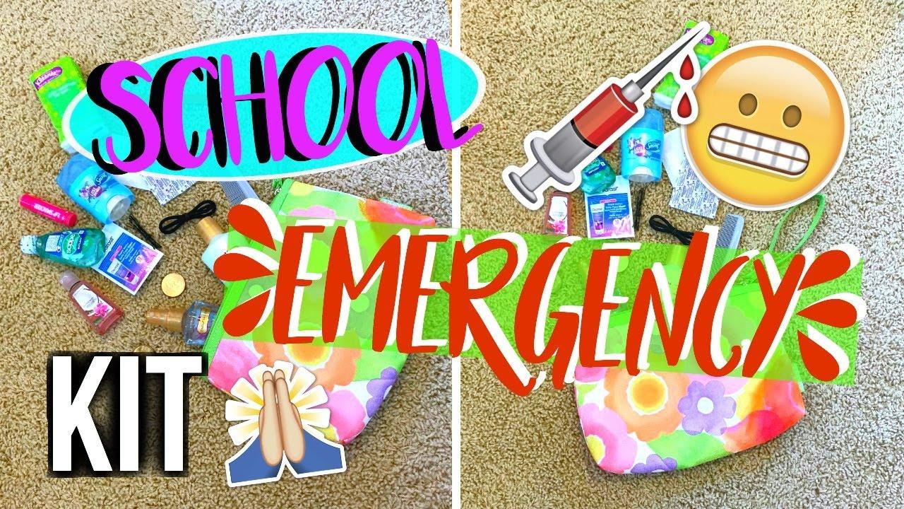 My School Emergency Kit Diy Emergency Kit For School Live
