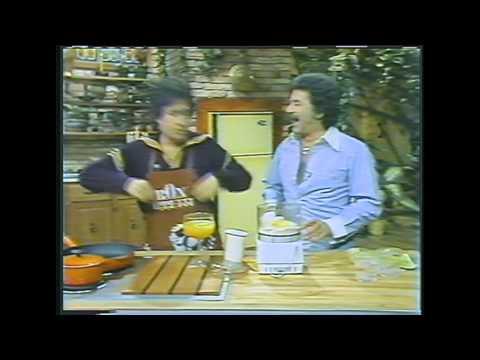Celebrity cooks  some wild bits Johnny Dark,  Lonnie Shorr, Cleo Laine, Bob Crane, others