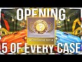 OPENING 5 OF EVERY CS:GO CASE EVER (165 CASE UNBOX)