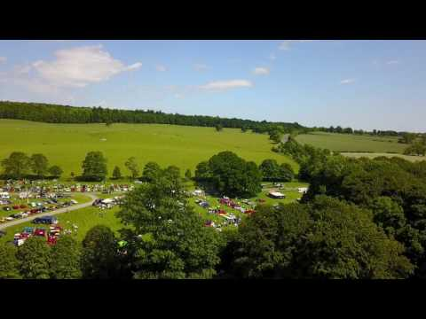 Raby Castle car show and scenery