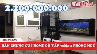 Bán chung cư i-home Phạm Văn Chiêu- Gò Vấp, Full nội thất, 2 phòng ngủ