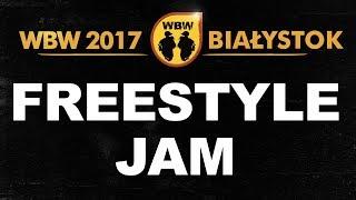 Freestyle Jam # WBW 2017 Białystok # Luber, Radzias, Dolar, Gml, Jakonn