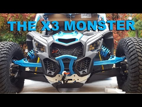 2018 Can-Am Maverick X3 X RC Turbo R Rock Crawler first one out of the  crate