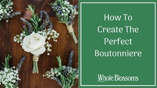 Boutonniere: Get the Bęst Use of Boutonniere