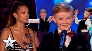 WOAH! 9-year-old dancer goes from sweet to SASSY! | Unforgettable Audition | Britain's Got Talent