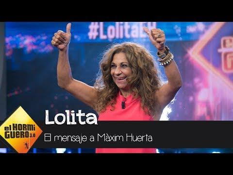 """Lolita a Màxim Huerta: """"La gente se mide por su talento y su manera de ser"""" - El Hormiguero 3.0"""