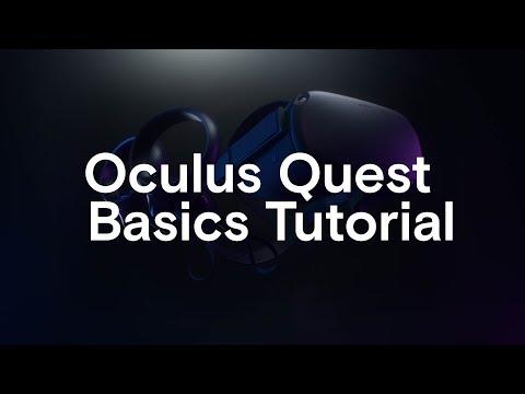Oculus Quest Basics Tutorial
