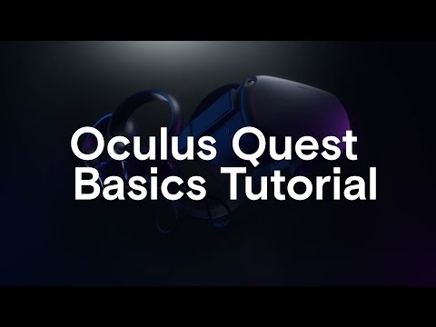 Oculus Quest Basics Tutorial