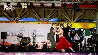Campeones Tango Escenario Colombia- Manizales 2016- Paulina Mejía y Juan David Vargas