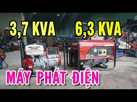 HÀNG MỚI VỀ | Máy Phát Điện Nhật Bản Elemax SH4000 Và Elemax SH7600EX | Giá Rất Tốt