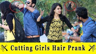 Cutting Girls Hair Prank || Prank In India 2019 || Funday Pranks