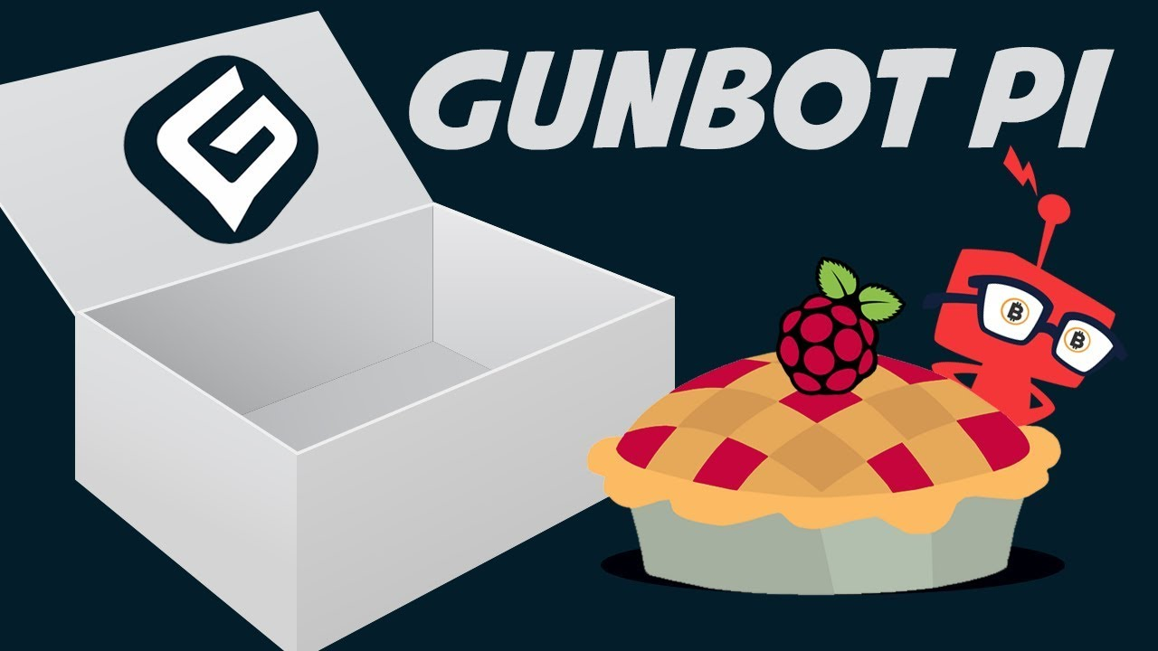 How to install Gunbot crypto trading bot on a Raspberry Pi 3