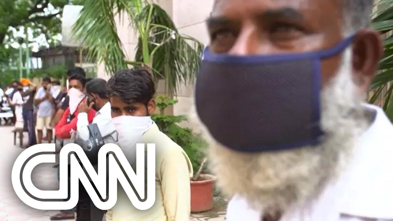 Download Covid-19: Índia detecta nova variante 'duplo mutante' à medida que casos aumentam | VISÃO CNN