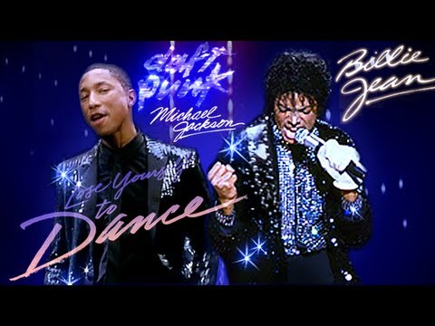 Daft Punk Feat. Michael Jackson - Lose Yourself To Dance / Billie Jean Travel Video