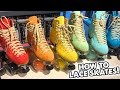 HOW TO LACE YOUR SKATES! | Planet Roller Skate