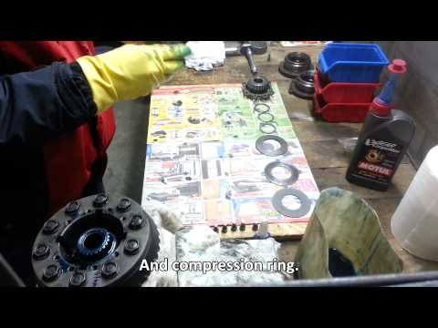 BMW 188mm LSD 3 clutch upgrade assembly DIY