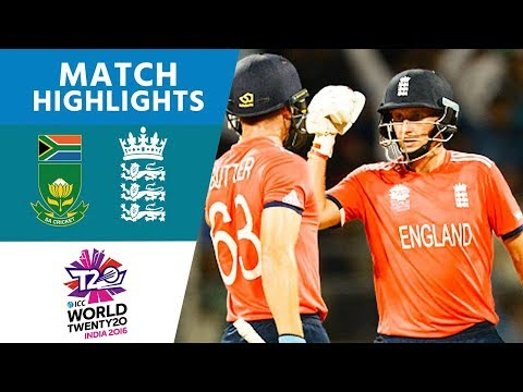 ICC WT20  South Africa vs England   Match Highlights