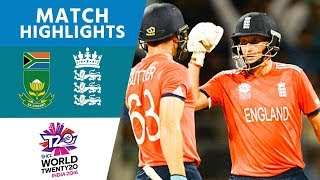 England Chase Down 230! | South Africa vs England | ICC Men's #WT20 2016 - Highlights