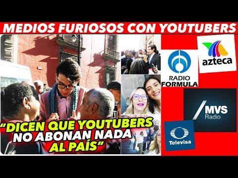 TV AZTECA LLAMA CHARLATANES E IMPROVISADOS A YOUTUBERS