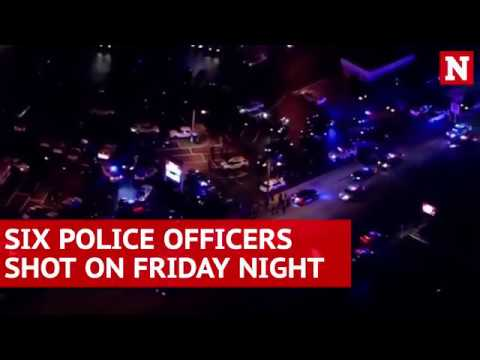 Six police officers shot in Florida and Pennsylvania on Friday night