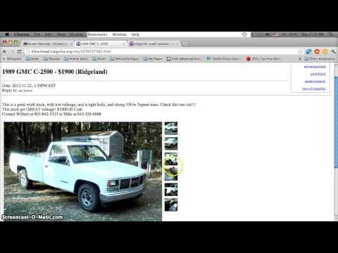 Craigslist Hilton Head Sc Used Cars