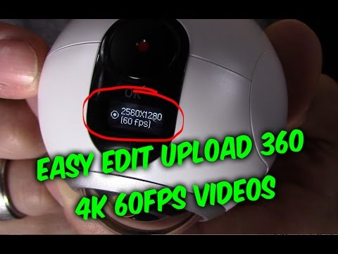 Samsung Gear 360 Camera Setup Guide - Record Edit & upload share VR s