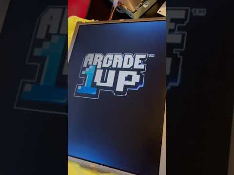 "Walmart Arcade1up Ms.Pac-Man PCB running on Dell 15"" monitor. from coasterlvr"