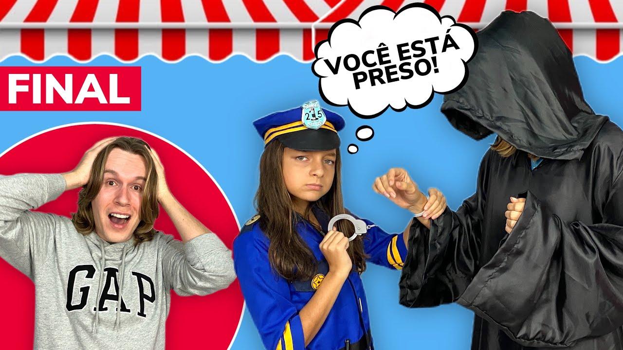 A FANTÁSTICA LOJINHA DE PAPER SQUISHY ★ PEGAMOS O ZIG - EP. FINAL | TIO LUCAS E LAILA