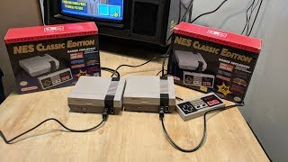Real NES Classic Compared to Fake NES Classic