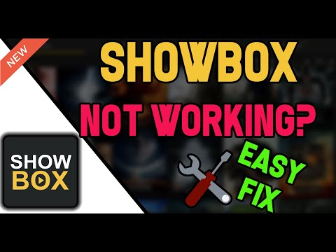 SHOWBOX NOT WORKING? Try this..........
