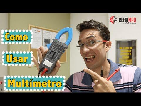 Como usar multimetro
